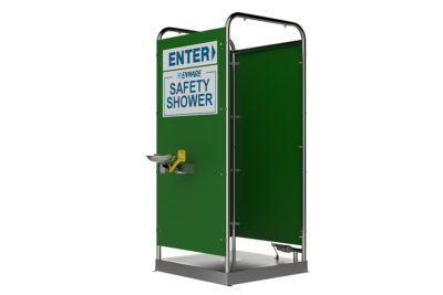 Platform Operated Multi-Spray Shower