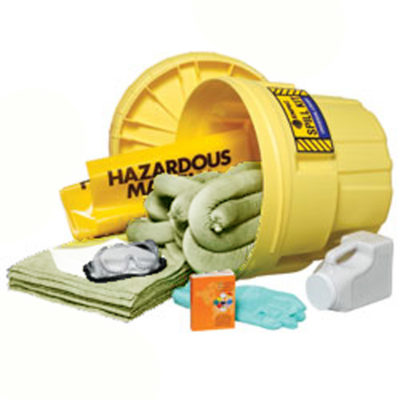 Battery Acid Spill Kit- 20 Gal Salvage Drum