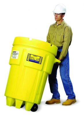 ENSORB 95 Gal Wheeled Salvage Drum Spill Kit – Universal